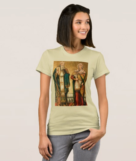 Camiseta de São Cipriano e Santa Justina