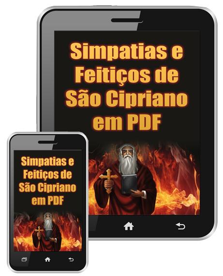 Simpatias e Feitiços de São Cipriano em PDF